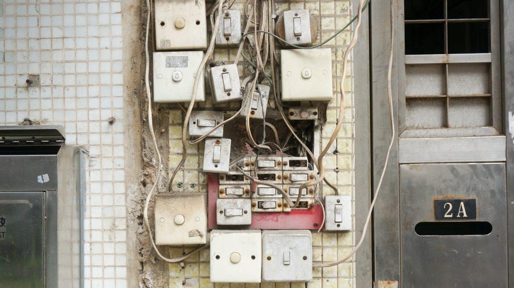 תוכנית אדריכלית - חשמל